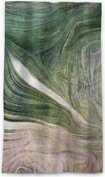 Rideau occultant Nuances de vert