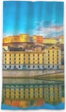 Lyon, france Rideau Transparent