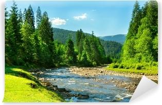 Samolepicí Fototapeta Horská řeka