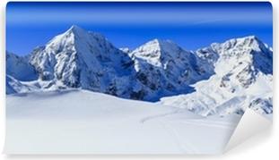 Samolepicí Fototapeta Zimní hory, panorama - Italské Alpy