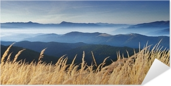 Samolepicí Plakát Podzim v horách