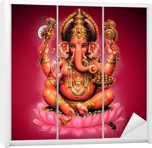 Schrankaufkleber Ganesh