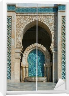 Schrankaufkleber Hassan-II.-Moschee in Casablanca, Marokko