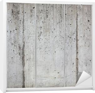 Schrankaufkleber Textur Der Alten Betonwand