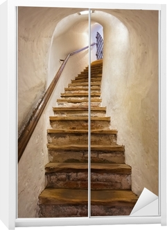 Schrankaufkleber Treppen im Schloss Kufstein - Österreich