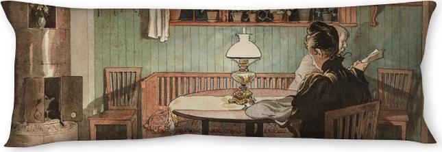 Seitenschläferkissen Carl Larsson - Wenn die Kinder schlafen - Reproductions