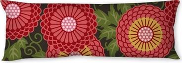 Seitenschläferkissen Traditionelle Blumen nahtlose Muster