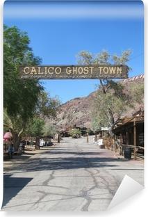 Selbstklebende Fototapete Calico Ghost Town, californie, usa