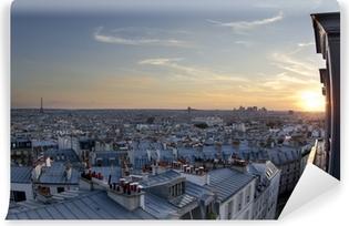 Selbstklebende Fototapete Dächer von Paris