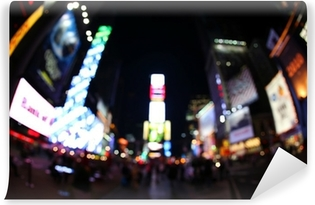 Selbstklebende Fototapete Der Times Square bei Nacht