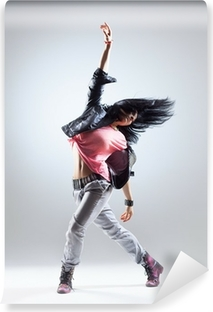 Selbstklebende Fototapete Die Tänzerin