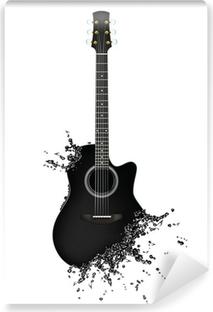 Selbstklebende Fototapete Electric guitar