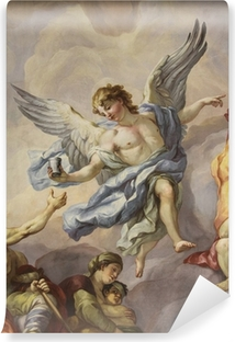 Selbstklebende Fototapete Fresken, Karlskirche, Wien