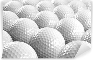 Selbstklebende Fototapete Golfbälle