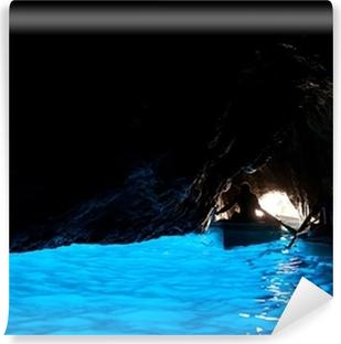 Selbstklebende Fototapete Grotta Azzurra, Höhle an der Küste von der Insel Capri.