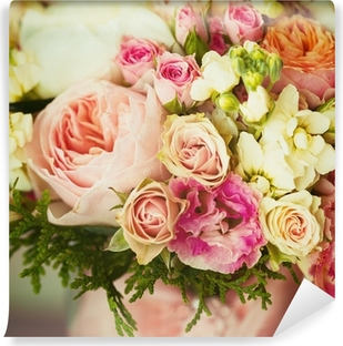 Aufkleber Hochzeitsblumen Instagram Effekt Vintage Farben