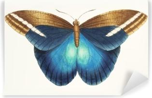 Selbstklebende Fototapete Illustration von Tiergrafik