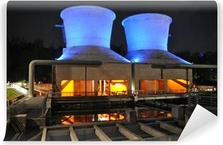 Selbstklebende Fototapete Jahrhunderthalle Bochum Kühltürme