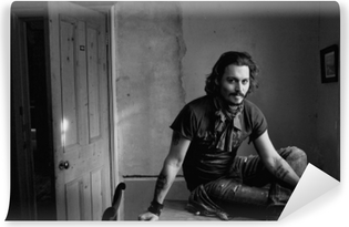 Selbstklebende Fototapete Johnny Depp