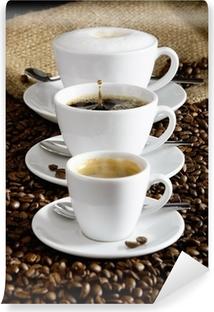 Selbstklebende Fototapete Kaffee
