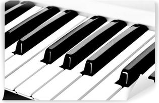 Selbstklebende Fototapete Klaviertastatur