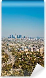 Selbstklebende Fototapete Los Angeles Wolkenkratzer