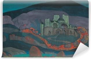 Selbstklebende Fototapete Nicholas Roerich - Verurteilte Stadt
