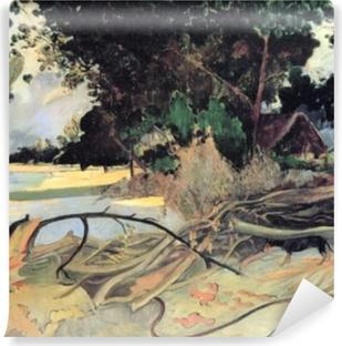 Selbstklebende Fototapete Paul Gauguin - Te Burao (Der Hibiskusbaum)