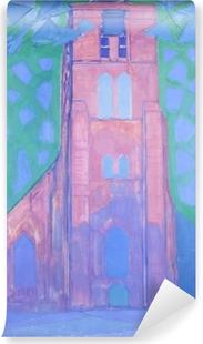 Selbstklebende Fototapete Piet Mondrian - Zeeländischer Kirchturm