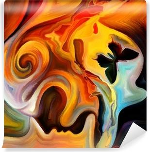 Selbstklebende Fototapete Reisen in die Innere Farbe