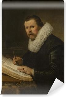 Selbstklebende Fototapete Rembrandt - Bildnis eines Gelehrten