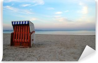 Selbstklebende Fototapete Strandkorb auf Rügen
