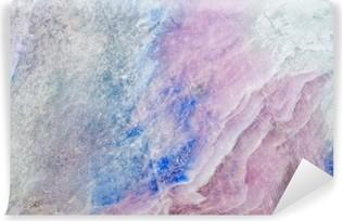 Selbstklebende Fototapete Textur von farbigen charoite Stein