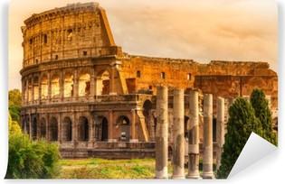 Selbstklebende Fototapete The Majestic Coliseum, Rome, Italy.