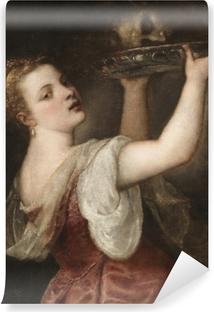 Selbstklebende Fototapete Tizian - Salome mit dem Haupt Johannes des Täufers