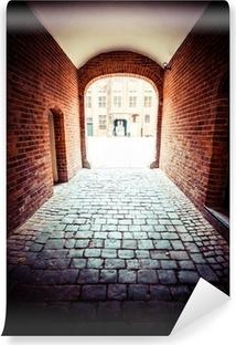 Selbstklebende Fototapete Traditionelle Architektur in der berühmten polnische Stadt, Torun, Polen.
