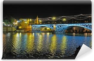 Selbstklebende Fototapete Triana-Brücke, Sevilla, Spanien