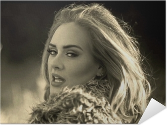 Selbstklebendes Poster Adele