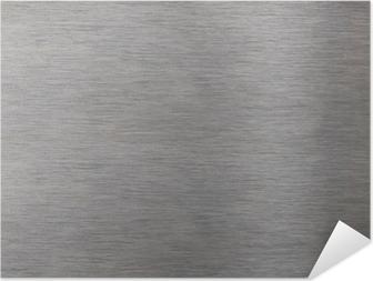 Selbstklebendes Poster Aluminiumoberfläche