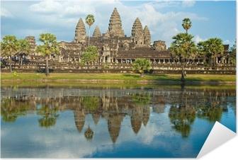 Selbstklebendes Poster Angkor Wat, Siem Reap, Kambodscha.