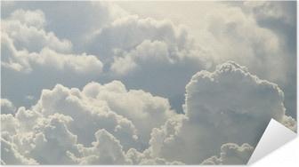Selbstklebendes Poster Blauer Himmel und schönen Wolken