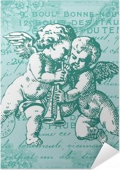 Selbstklebendes Poster Blue Angels