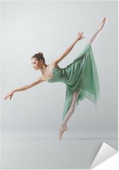 Selbstklebendes Poster Die Tänzerin