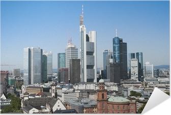 Selbstklebendes Poster Frankfurt am Main