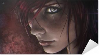 Selbstklebendes Poster Katarina - League of Legends
