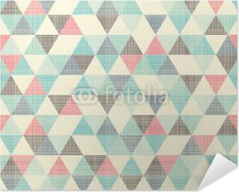 Selbstklebendes Poster Nahtlose geometrische Muster.