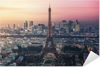 Selbstklebendes Poster Paris