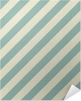 Selbstklebendes Poster Retro nahtlose geometrische Muster