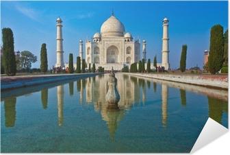 Selbstklebendes Poster Taj Mahal in Indien