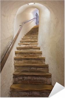 Selbstklebendes Poster Treppen im Schloss Kufstein - Österreich